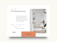 Daily UI 12: E-Commerce Shop (Single Item)