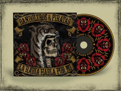 BANDOLEROS Y PIRATAS ART ALBUM