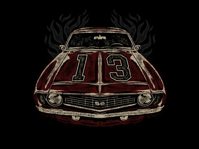 13 IS MY LUCKY NUMBER - CAMARO
