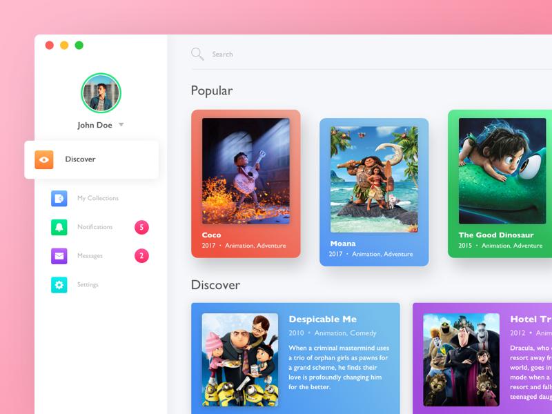 Movie Dashboard Desktop Application