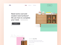 FRN Furniture Landing Page