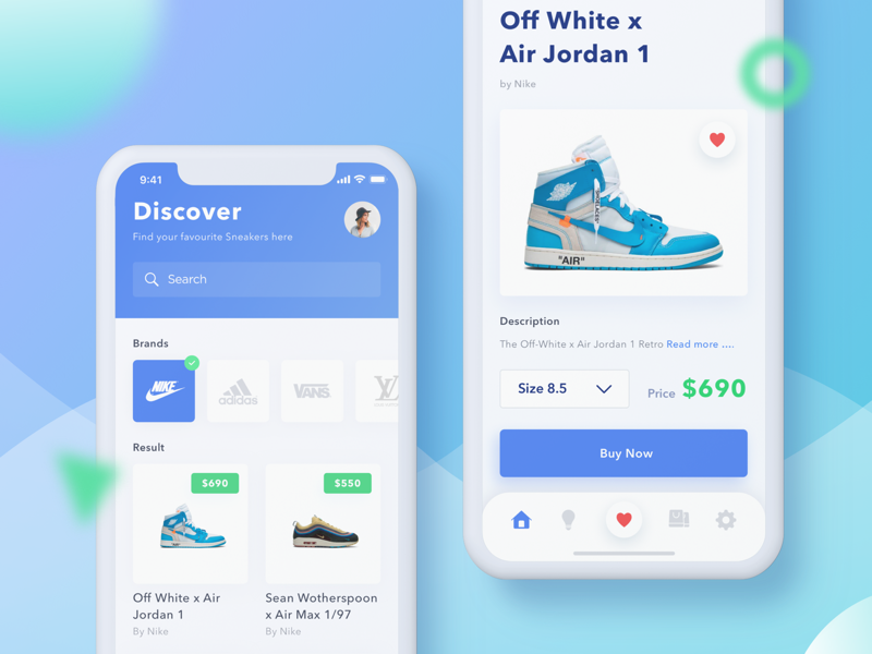 buy online 83126 671c0 Sneakers Online Shop by Nicholaus Gilang | Dribbble | Dribbble