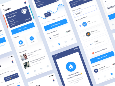 Insurance App ui ui kits clean mobile ui kit iphone x iphone ios 11 insurance app
