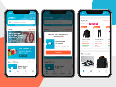E-commerce App product shopping marketplace market store shop e-commerce shop e-commerce design iphone x ios11 iphone ui kit mobile ios ux clean app ui