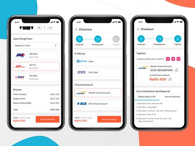E-commerce App chart payment checkout e-commerce shop market marketplace store design iphone x ios11 iphone ui kit mobile ios ux clean app ui