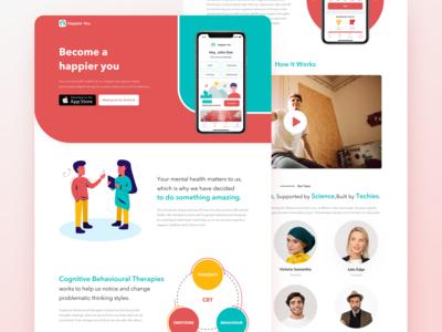 Happier You Website