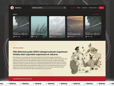 Galeria : Web Design (2/2) ui ux logo webdesign branding illustration uidesign typography minimalist design