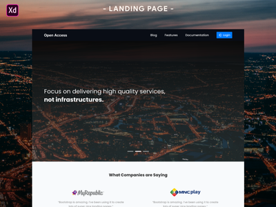 Design Interface of Open Access vector designchallenge uidesign typography minimalist illustration branding graphicdesign design artwork landingpage web design
