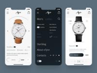 Watch Store | iPhone X Shots