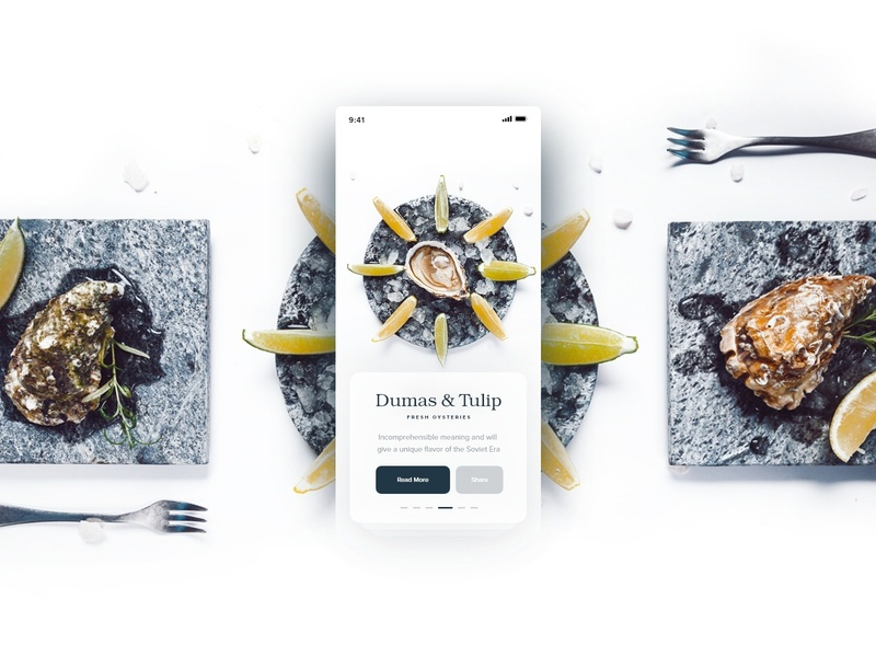 Harms | Recipe App ingredients mobile app yummy taste recipes fitness fit recipe app recipe food app ios food art typography design card clean ux minimal ui