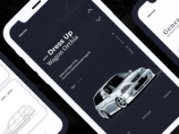 Honda Orthia — [Project]* app vector logo drive illustration creative clean ux webdesign web typography car ui concept