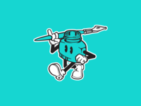 Print Shop Mascot