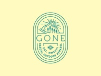 Gone Shirt/Badge