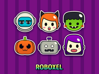 Spooky Faces Icons