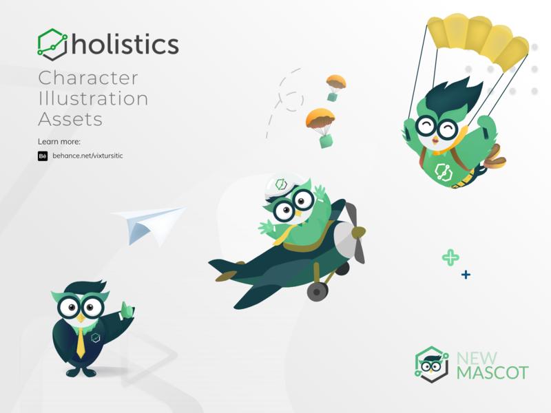 Character Design - Holistics Mascot