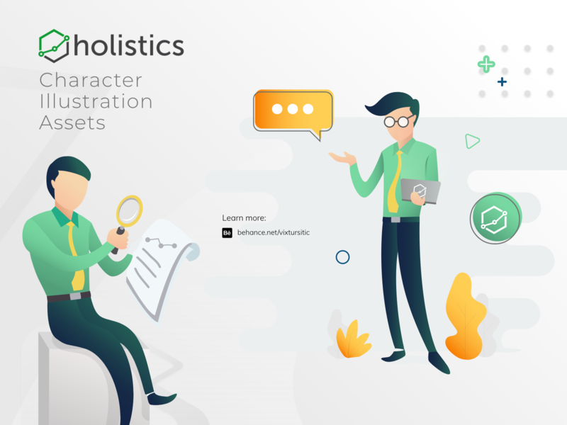 Holistics Character Design - 2019