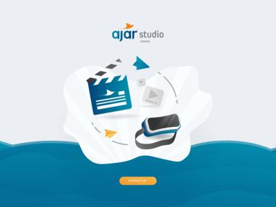 AJAR STUDIO Landing cover