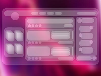 Social Media Gradient UI gradient design ui