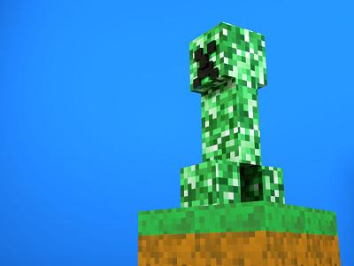 Creeper 01 3ddesign 3d minecraft
