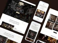 The Brazen Head Pub — Website Redesign