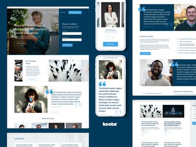 Homs Assist — Web & Brand Refresh ux website design website brand blue simple desktop color design graphic design ui