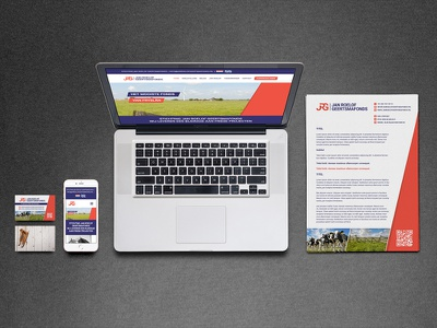 Corporate Identity JRG creative graphicdesign design ui ux paper mockup webdesign corporate identity