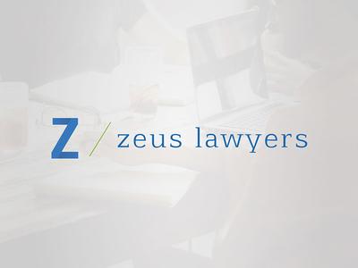 Identity Zeus Lawyers creative graphicdesign design identity zeus lawyers logo corporate identity