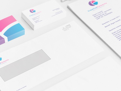 Branding Creative Elements corporate identity creative business cards logo graphicdesign design corporate identity branding