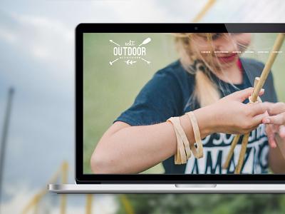 Echt Outdoor webdesign child creative template ui design ux design templates user interface user experience outdoor website webdesign