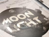 Moon Light Night - Club A5 Flyer Template
