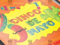 5 De Mayo Celebration - Seasonal A5 Flyer Template