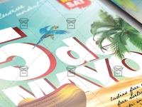 5 De Mayo Fiesta - Seasonal A5 Flyer Template