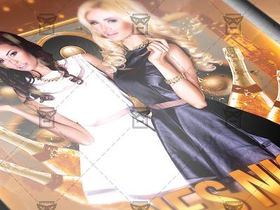 Ladies Night Flyer - Club A5 Template ladies flyer ladies poster girls party ladies party girls night out ladies night
