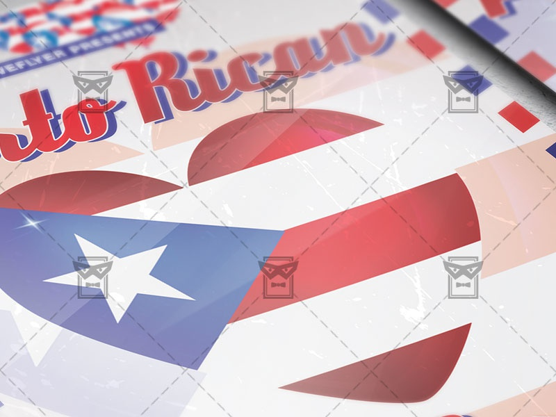 puerto rican parade flyer community a5 template by exclusive flyer