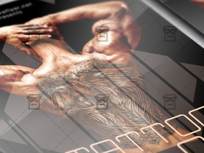 Tattoo Salon Flyer - Business A5 Template