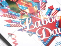 Labor Day Flyer - Seasonal A5 Template