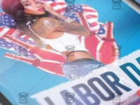 Labor Day Night Flyer - Seasonal A5 Template