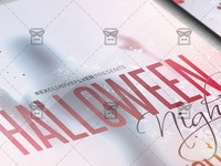 Halloween Night Flyer - Seasonal A5 Template