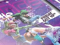 Dance Battle Flyer - Club A5 Template