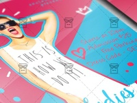 Ladies Night Out Flyer - Club A5 Template