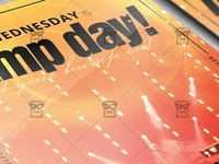 Hump Day Flyer - Club A5 Template