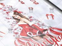 White New Year Night Flyer - Seasonal A5 Template