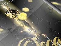 Oscar Night Party Flyer - Club A5 Template