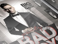 Bad Boys Party Premium Flyer Template 2