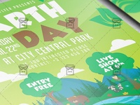 Mother Earth Day Celebration Flyer - Seasonal A5 Template