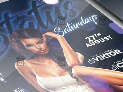 Status Saturdays - Club A5 Template