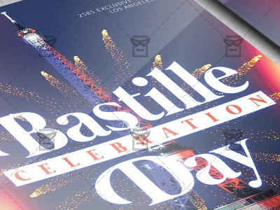 Bastille Day Celebration - Club A5 Template tour de france flyer france flyer bastille celebration bastille day poster bastille day celebration bastille flyer design bastille party flyer