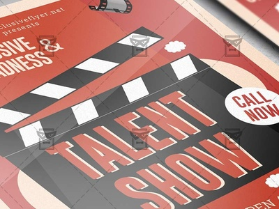 Talent Show - Club A5 Template