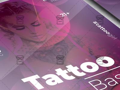Tattoo Bash - Club A5 Template
