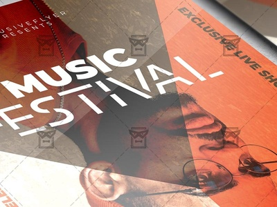 Music Festival - Club A5 Template